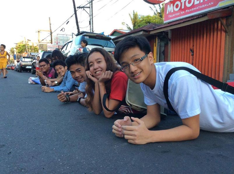 upcat review creative shot on the pavement