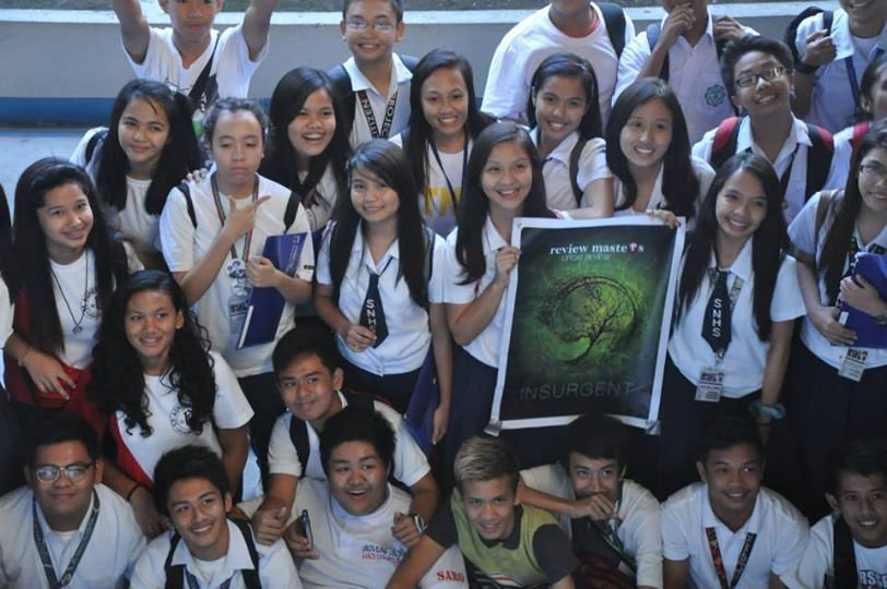 upcat review class picture