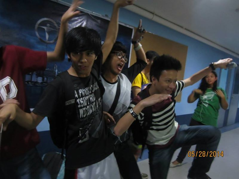 upcat review boys having fun